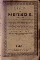 manuel Roret du Parfumeur