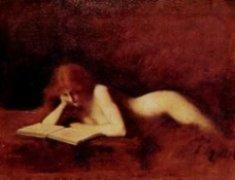 La liseuse de Jean-Jacques Henner