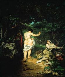 Courbet, Les baigneuses