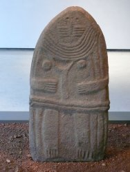Les statues-menhirs du musée Fenaille à Rodez, Notre-dame-de-st-Sernin