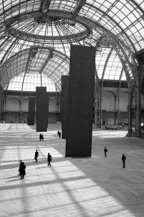 Monumenta 2008, Richard Serra dans la nef du grand palais, Promenade