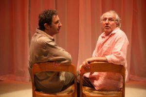 François Morel et Olivier Saladin dans Bien des choses au Théâtre du Rond-Point