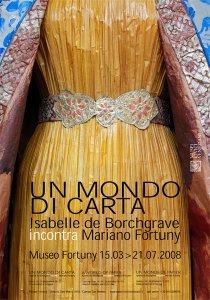 Isabelle de Borchgrave, un monde de papier au musée Fortuny à Venise