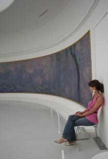 Aller voir les Nympheas de Monet à l'Orangerie