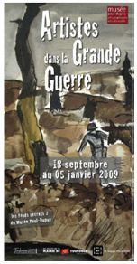 Musée Paul Dupuy à Toulouse, Artistes dans la grande guerre
