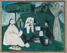 Picasso, Manet, le déjeuner sur l'herbe