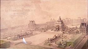Dessins d'architecture, accrochage au Musée d'Orsay