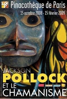 exposition Pollock et le chamanisme à la Pinacothèque de Paris