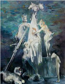 Le chemin de la peinture à Nice