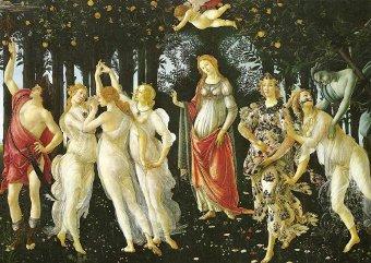 Botticelli, Le Printemps, Offices