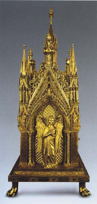 Châsse de Saint-Taurin, exposition aux Jacobins à Toulouse