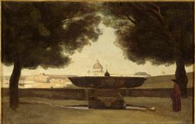 Voir l'Italie et mourir, Musée d'Orsay, Corot