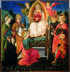 Exposition au musée du Luxembourg, Lippi, Vierge à la ceinture