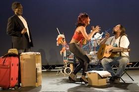 Somewhere... la mancha, théâtre des Bouffes du Nord