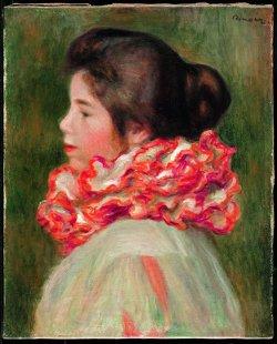 Exposition Renoir au Grand Palais, Jeune fille à la collerette