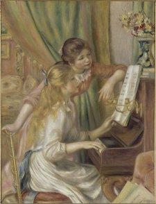 Jeunes filles au piano, Renoir