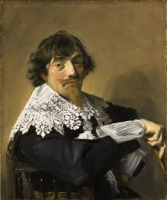 Frans Hals, portrait d'homme, exposition à la Pinacothèque de Paris