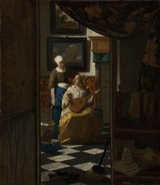 La lettre d'amour de Vermeer, exposition à la Pinacothèque de Paris