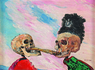 James Ensor, exposition à Orsay, 2009-2010
