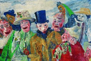 James Ensor, exposition à Orsay, 2009-2010, L'Intrigue