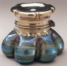 Exposition Tiffany au Musée du Luxembourg, encrier