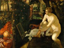 Rivalités à Venise, Tintoret, Suzanne et les vieillards, Vienne