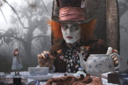 Alice au pays des merveilles, Tim Burton, Johnny Depp