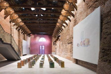 Mapping the Studio, première salle à la Punta della Dogana