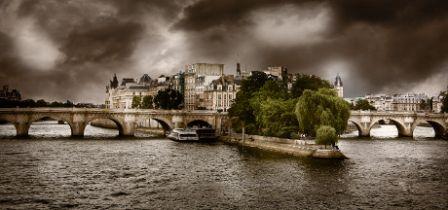 Serge Ramelli, le Pont Neuf et l'orage, Paris