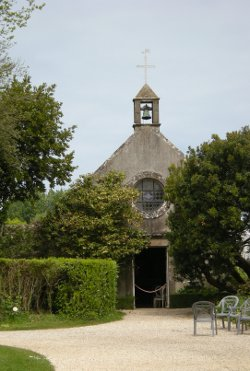 La chapelle Sainte-Sophie de la Malouinière de la Ville Bague, St Malo