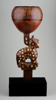 L'or de Incas, Pinacothèque de Paris, coupe cérémonielle
