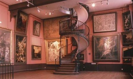 Escalier du Musée Gustave Moreau