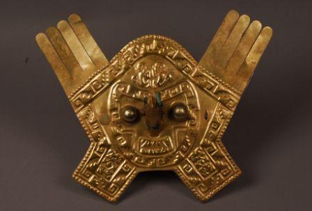 L'or des Incas à la Pinacotheque de Paris, Ornement frontal