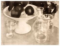 Heinrich KUHN Nature morte: verres et carafe, Musée d'Orsay