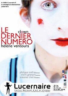 Hélène Ventoura, Le dernier numéro, Lucernaire