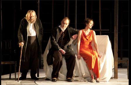 La Cerisaie, théâtre de l'Odéon, mise en scène J Brochen