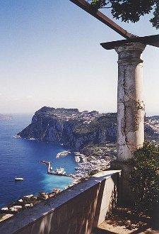 Vue depuis la Villa San Michele, Anacapri, Capri