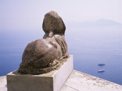 Le sphinx de la Villa San Michele à Anacapri