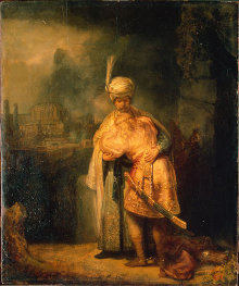 David et J, Rembrandt Pinacotheque de Paris