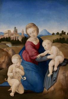 Vierge Esterhazy, Pinacotheque de Paris