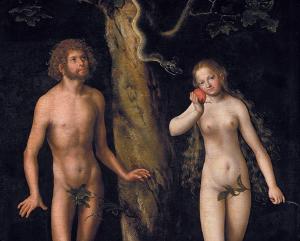Exposition Cranach au musée du Luxembourg, Adam et Eve