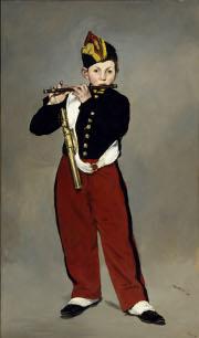 Exposition Manet à Orsay, Le fifre