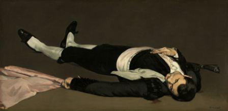 Exposition Manet à Orsay, homme mort