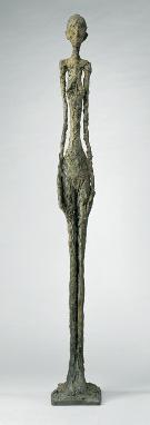 Grande Femme debout, Giacometti et les Etrusques à la Pinacothèque de Paris
