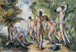 Cézanne à l'exposition Stein au Grand Palais