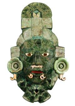 Masques de jade Mayas, Pinacothèque