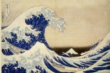 La grande Vague, Hokusai, Debussy, la musique et les arts
