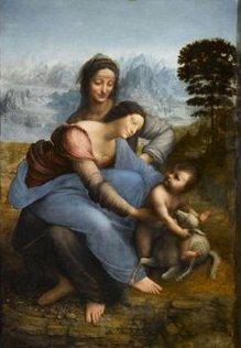 Sainte-Anne, ultime chef d'oeuvre de Vinci