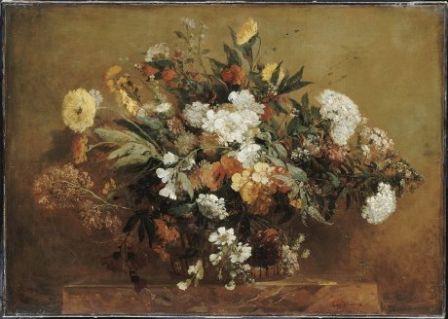 Des fleurs en Hiver, musée Eugène Delacroix