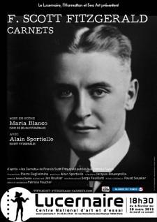F. S. Fitzgerald, Carnets, Théâtre du Lucernaire